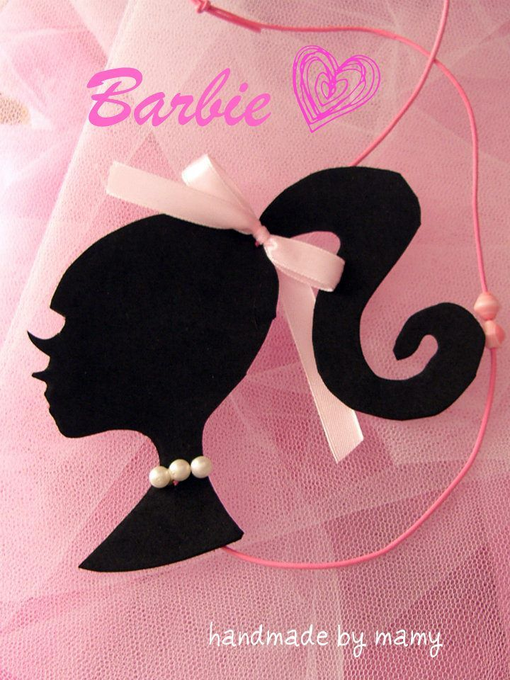 Barbie Neckless https://www.facebook.com/#!/pages/Handmade-by-mamy/136413849758250