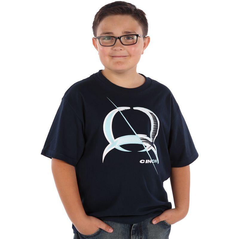 Boy S Cinch Navy T Shirt Item Mtt7670015 Navy Tshirt