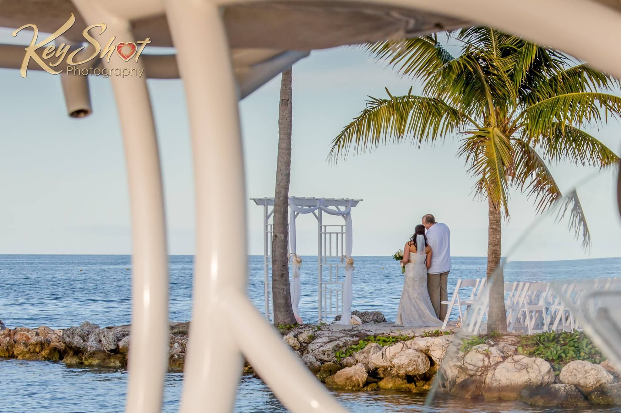 In honor of Wedding Wednesday... Where is your special place to get married at? #TheJetty #FaroBlanco #FLKeys #Marathon #Wedding #Ido #Tropical #Destination #KeyShotPhotography #PalmTrees