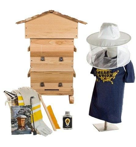 The Warre hive starter kit has everything you need to start beekeeping with the warre hive. Save $40+ when items bought as a kit. Free U.S. shipping. Read more.