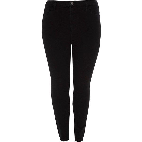 Discount Release Dates Womens Plus Black skinny Molly jeggings River Island Sale For Cheap Countdown Package Cheap Online Fake Buy Cheap 100% Original uVaTmjJsF