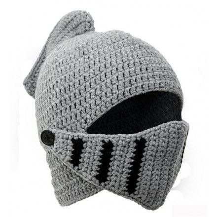 Child's knitted knight hat | Winter knit hats, Knitted ...