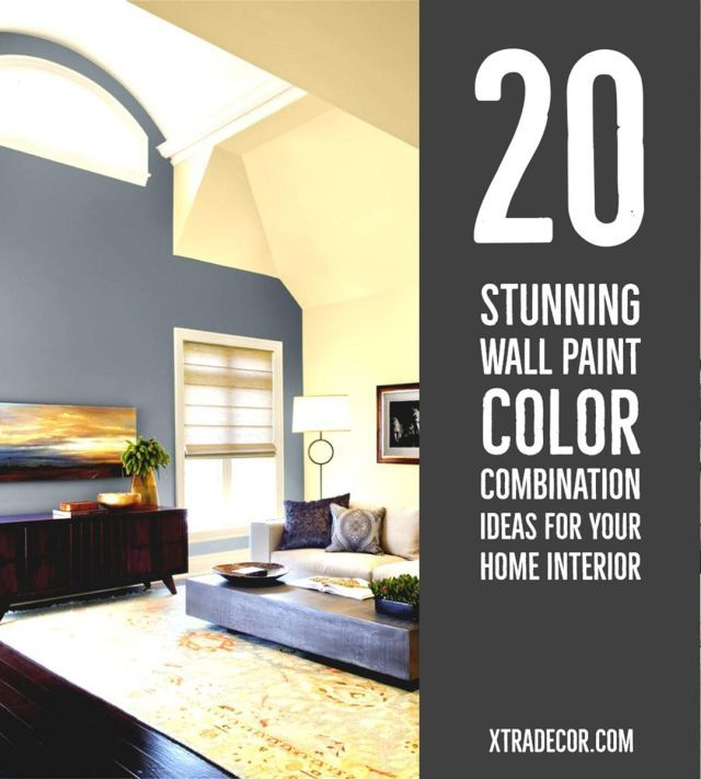 20 stunning wall paint color combination ideas for your on interior design painting walls combination id=41839