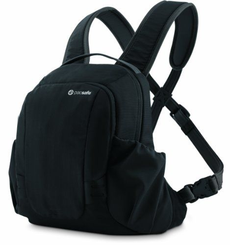 Pacsafe Venturesafe 10L GII AntiTheft Front Pack Black     Visit the image  link more details. 883e546354e53