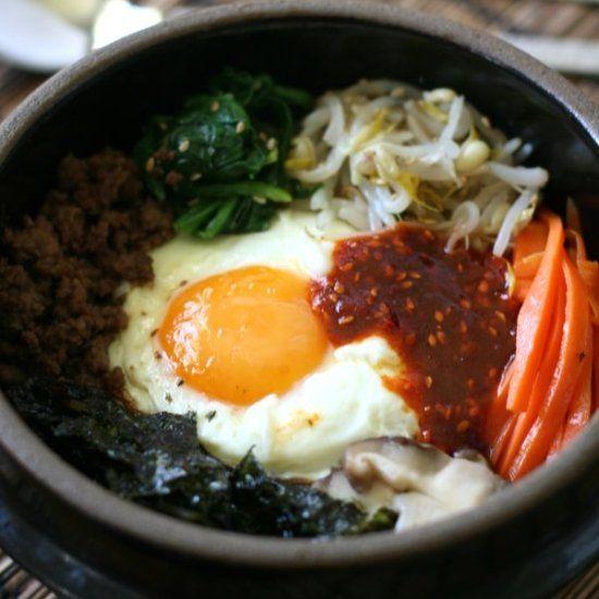 Bibimbap Korean Mixed Rice