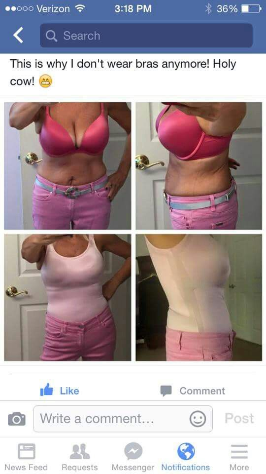 3a898812881d2 Look at how a Ruby Ribbon cami replaces your bra and smooths your  silhouette at the same time. Wowza! rubyribbon.com KristinThomas.  NoBraNOLA