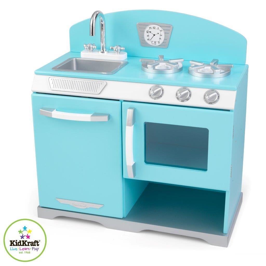 Blue retro stove från Kidkraft hos ConfidentLiving.se   Buy at ...