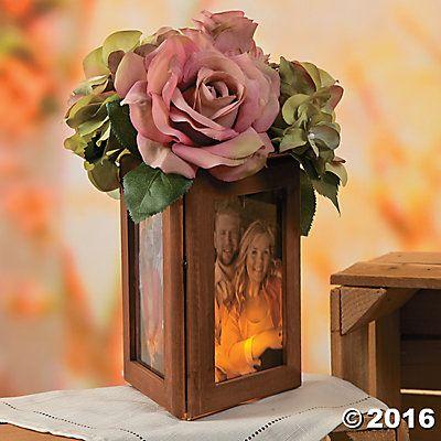 Wood Frame Centerpiece Idea | Dream Wedding | Pinterest ...