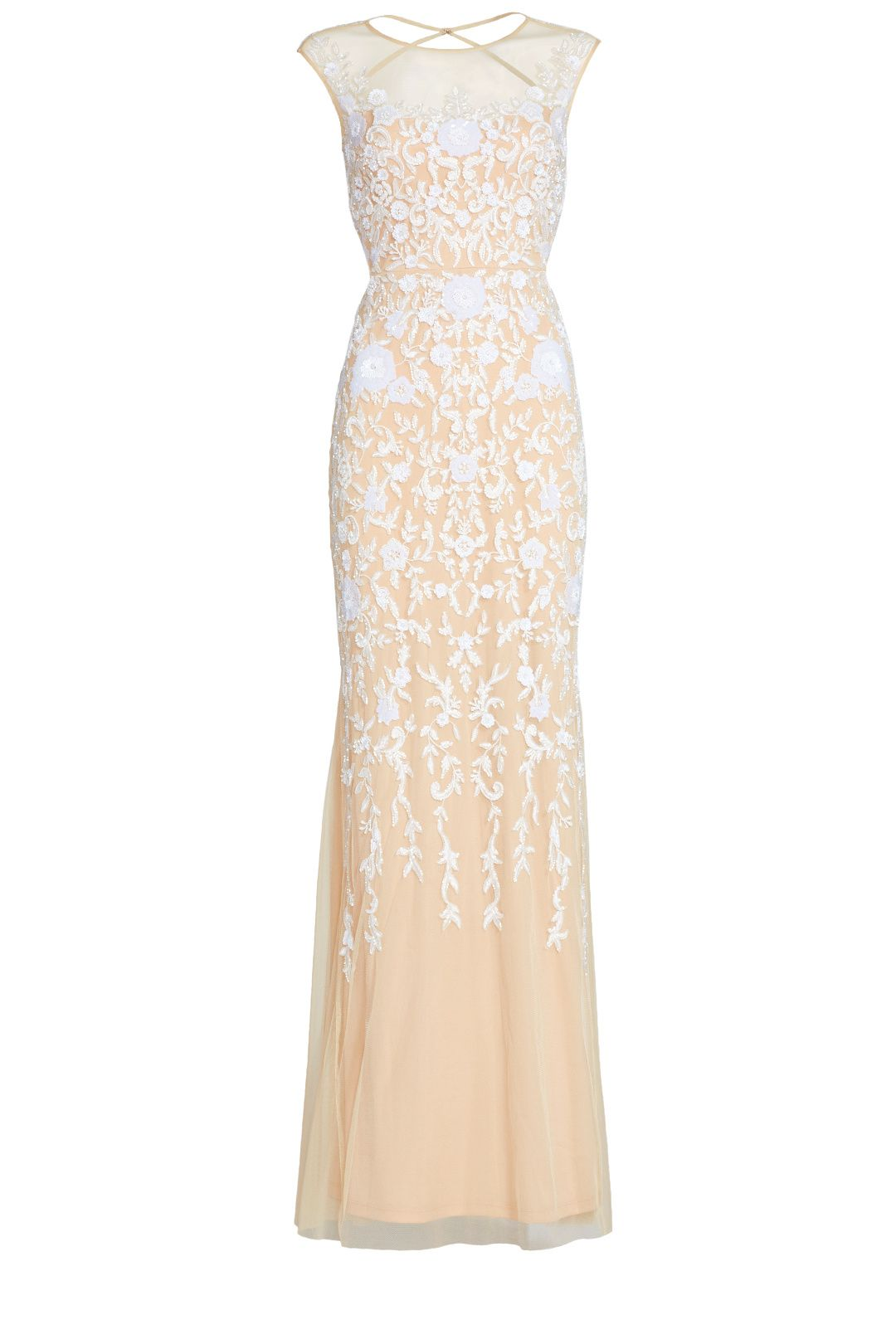 Rent Champagne Gown by Badgley Mischka for $150 only at Rent the ...