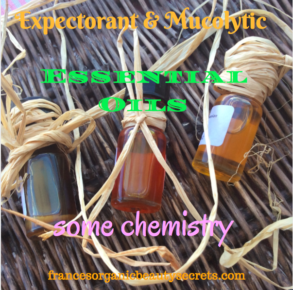 Expectorant And Mucolytic Essential Oils Some Chemistry Essential Oils Oils Essentials