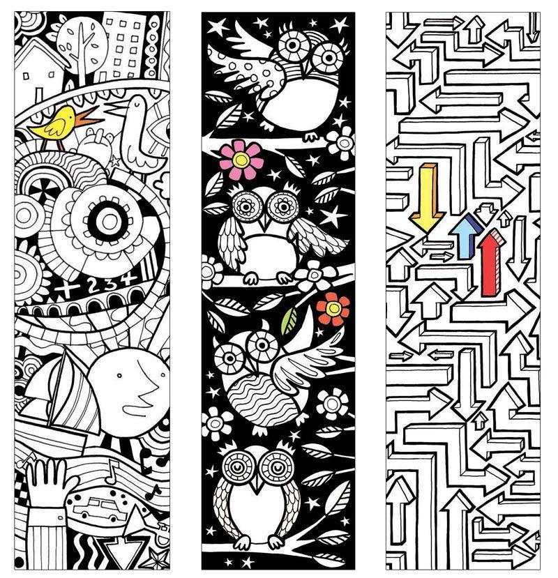 Usborne bookmarks and colouring pages.   Kifestőkönyv   Pinterest ...