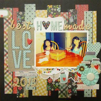 My Creative Scrapbook May Main Kit created by Nicole Doiron.