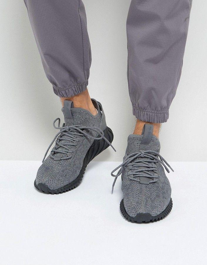 adidas tubulare sock primeknit in grigio by3564 doom scarpe adidas