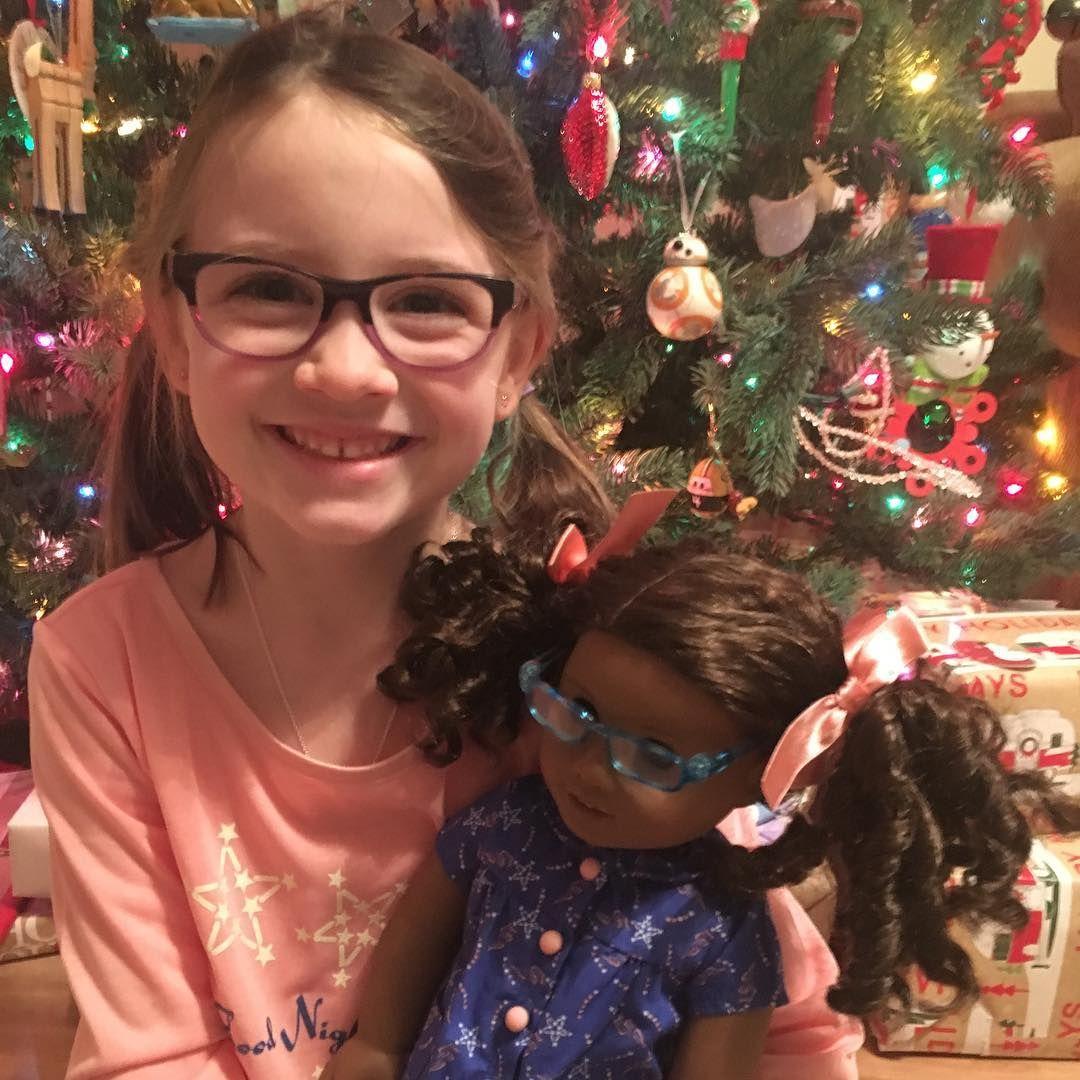 Matching pajamas for an early Christmas gift! #americangirldoll ...