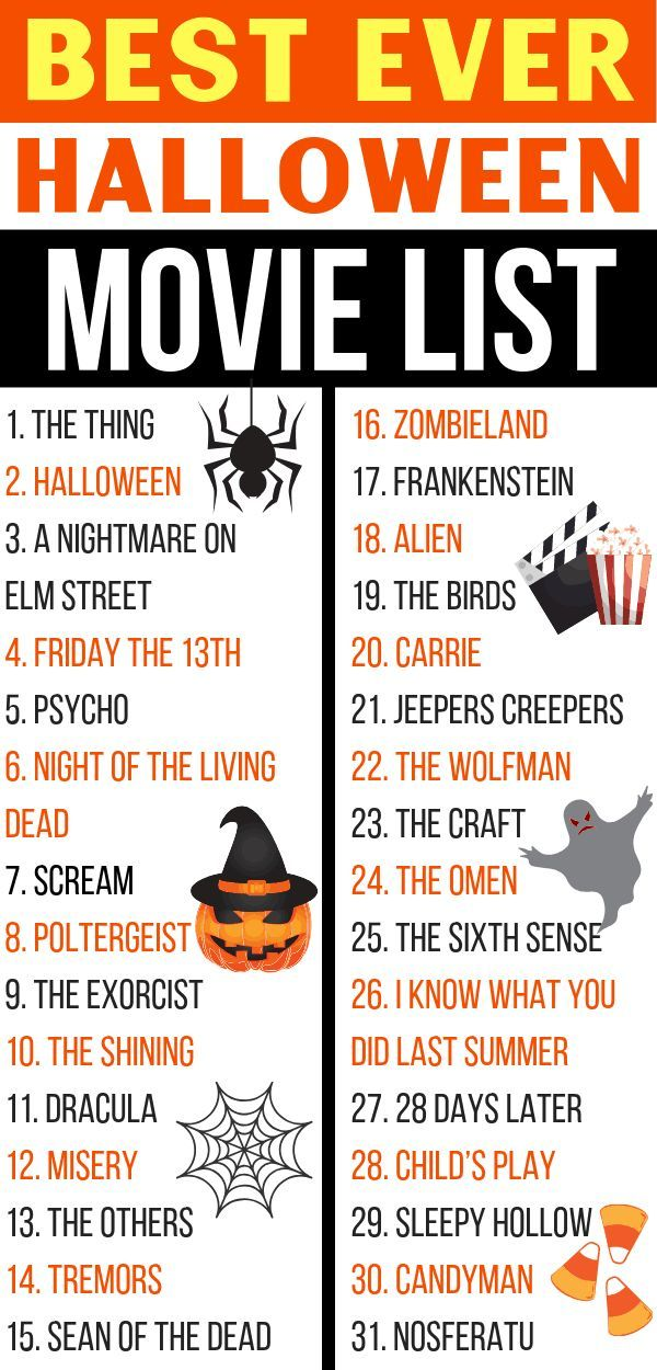 31 Days of Halloween Movies - Best Halloween Movie List!! - Savvy Honey