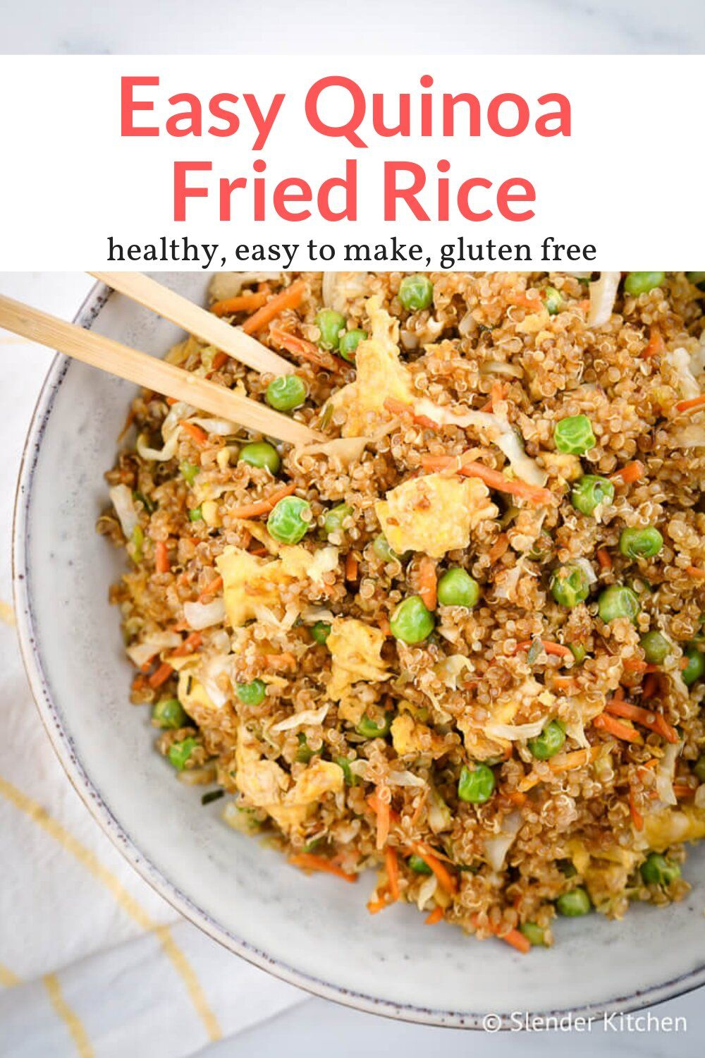 Photo of Quinoa Fried Rice – Slender Kitchen