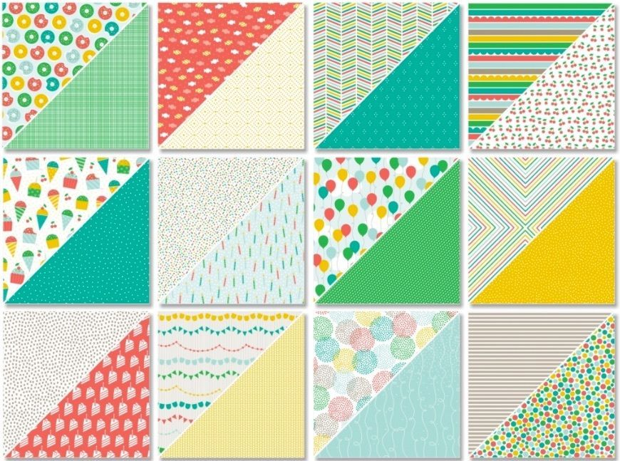"6/"" x 6/"" DSP Designer Series Paper RETIRED Stampin/' Up"