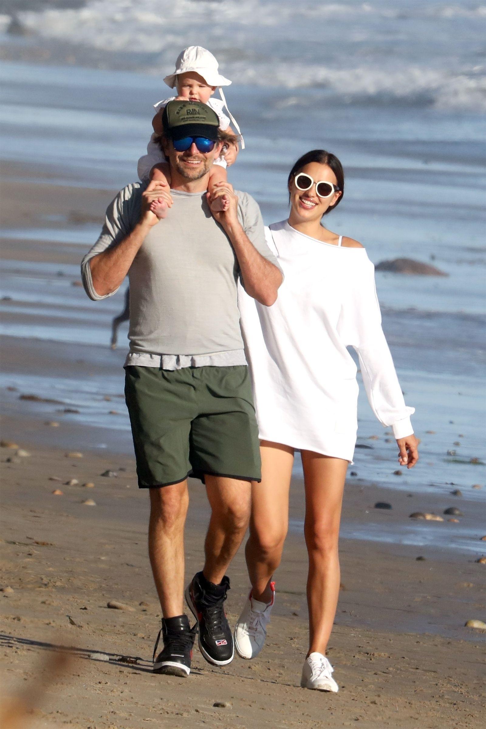 Bradley Cooper, Irina Shayk, and Their Baby Just Had the Cutest Family  Beach Day | Irina shayk style, Irina shayk, Star fashion