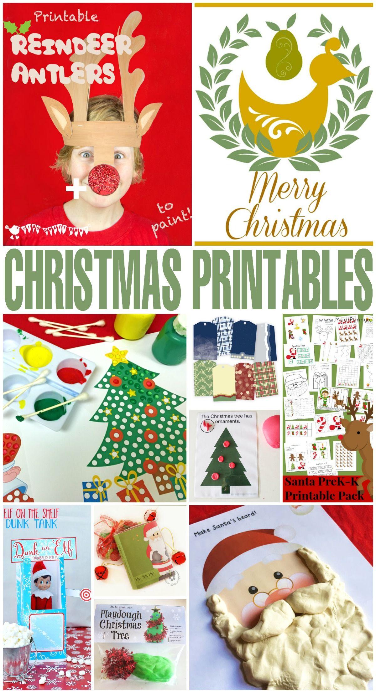 101 Free Christmas Printables