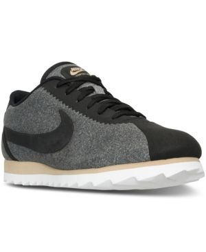Nike Women's Cortez Heather Casual Sneakers from Finish Line - Black 10