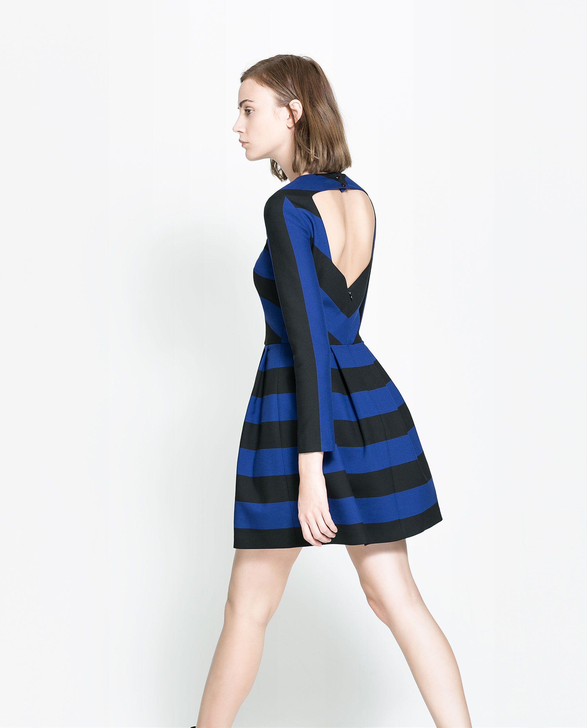 OPEN - BACK DRESS - Dresses - TRF | ZARA Serbia | zara. | Pinterest