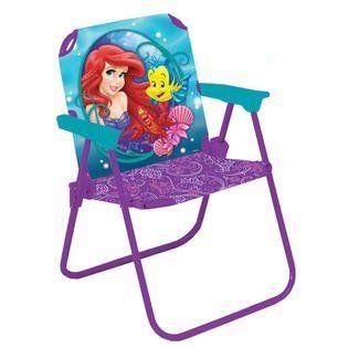 Kids Folding Chairs Disney The Little Mermaid Folding Patio