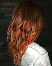 Copper Balayage Für Braunes Haar #winterhaarfarbe #copperbalayage Copper Balayage ...   - fashionwomandress - #Balayage #braunes #Copper #copperbalayage #fashionwomandress #für #Haar #Winterhaarfarbe #copperbalayage