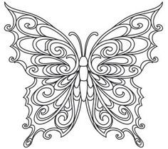 Whimsical Butterfly Coloring Pages Butterfly Coloring Page