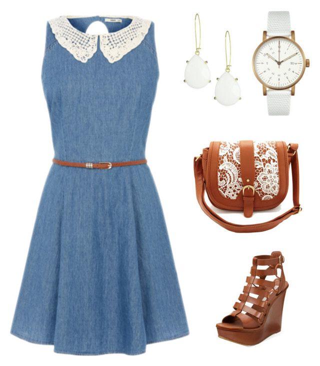 """#8"" by natali3113 ❤ liked on Polyvore featuring Diane Von Furstenberg, Void, Kendra Scott and Charlotte Russe"