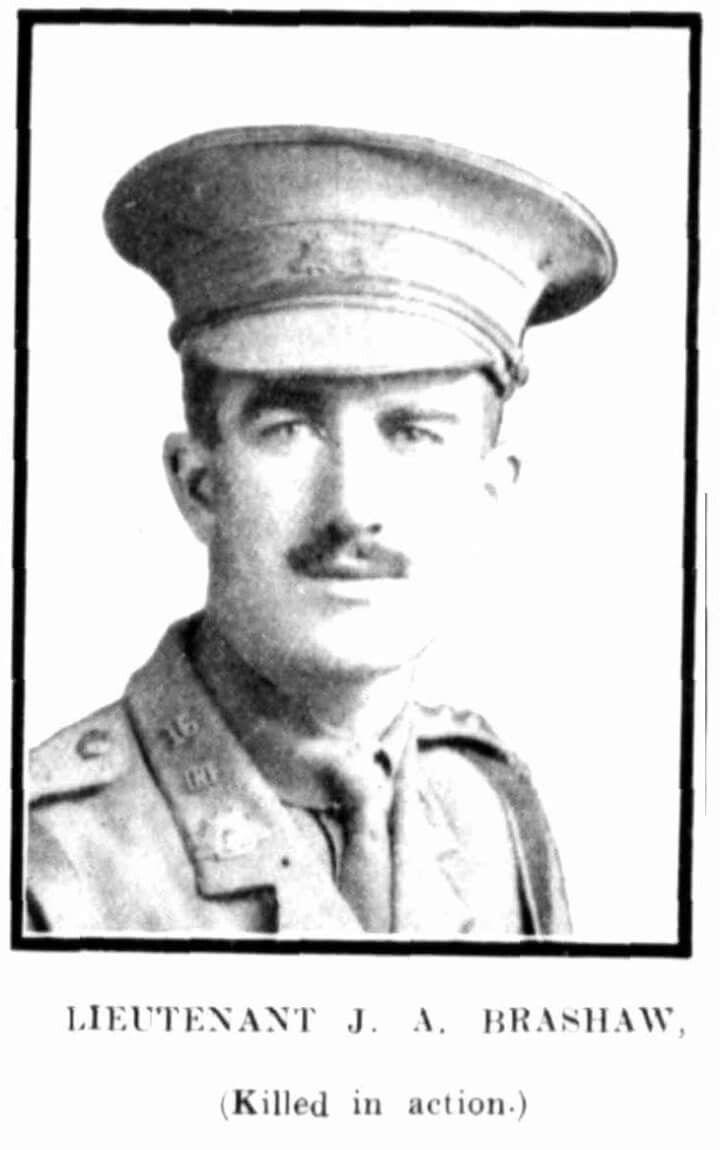 Chemist and career soldier, Captain Joseph A. Brashaw