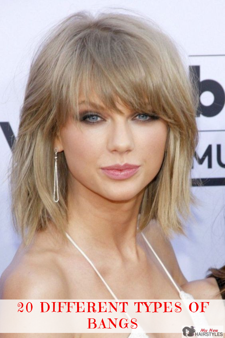 There Are So Many Different Types Of Bangs Out There That It Can Be Extremely Hard To Choose Hairstyles With Bangs Trendy Bob Hairstyles Short Shag Hairstyles