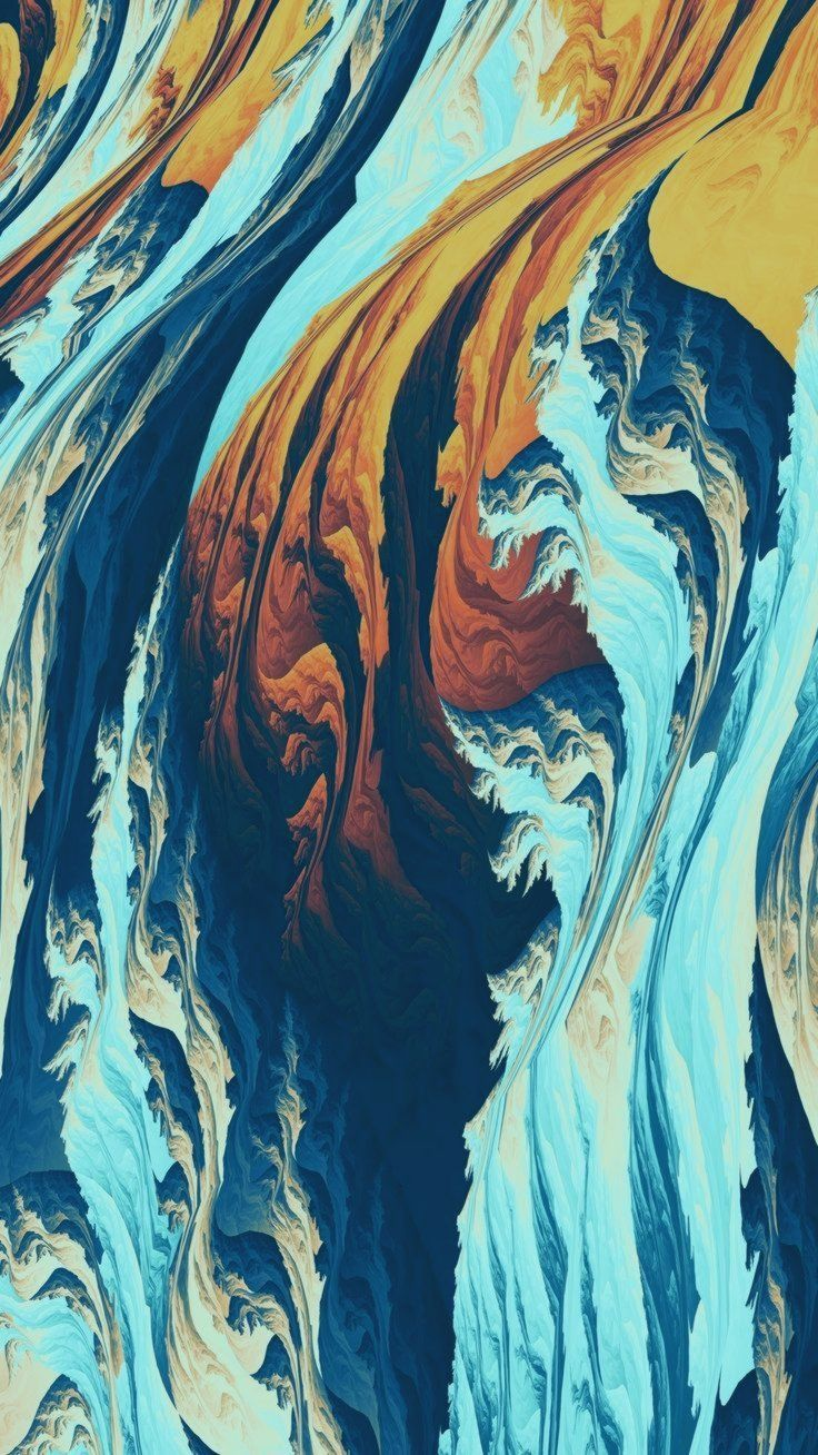 Artist Wallpaper No. 275 [MR Blog] Torrent, pattern, fractal, 1080x1920 wallpape...