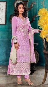 Purplish Pink Long Length Preity Zinta Salwar Kameez 3H920818