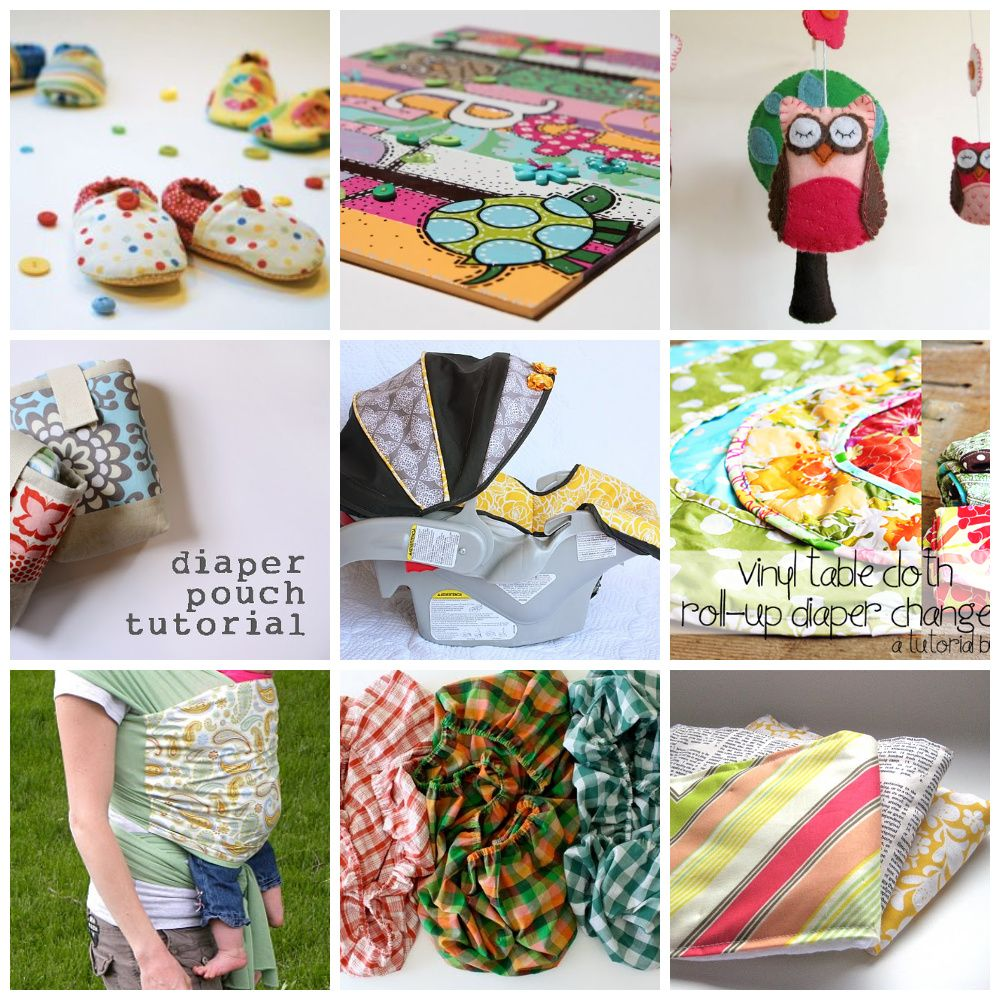 13 Great Baby Items And Gear To Make Yourself Make Baby