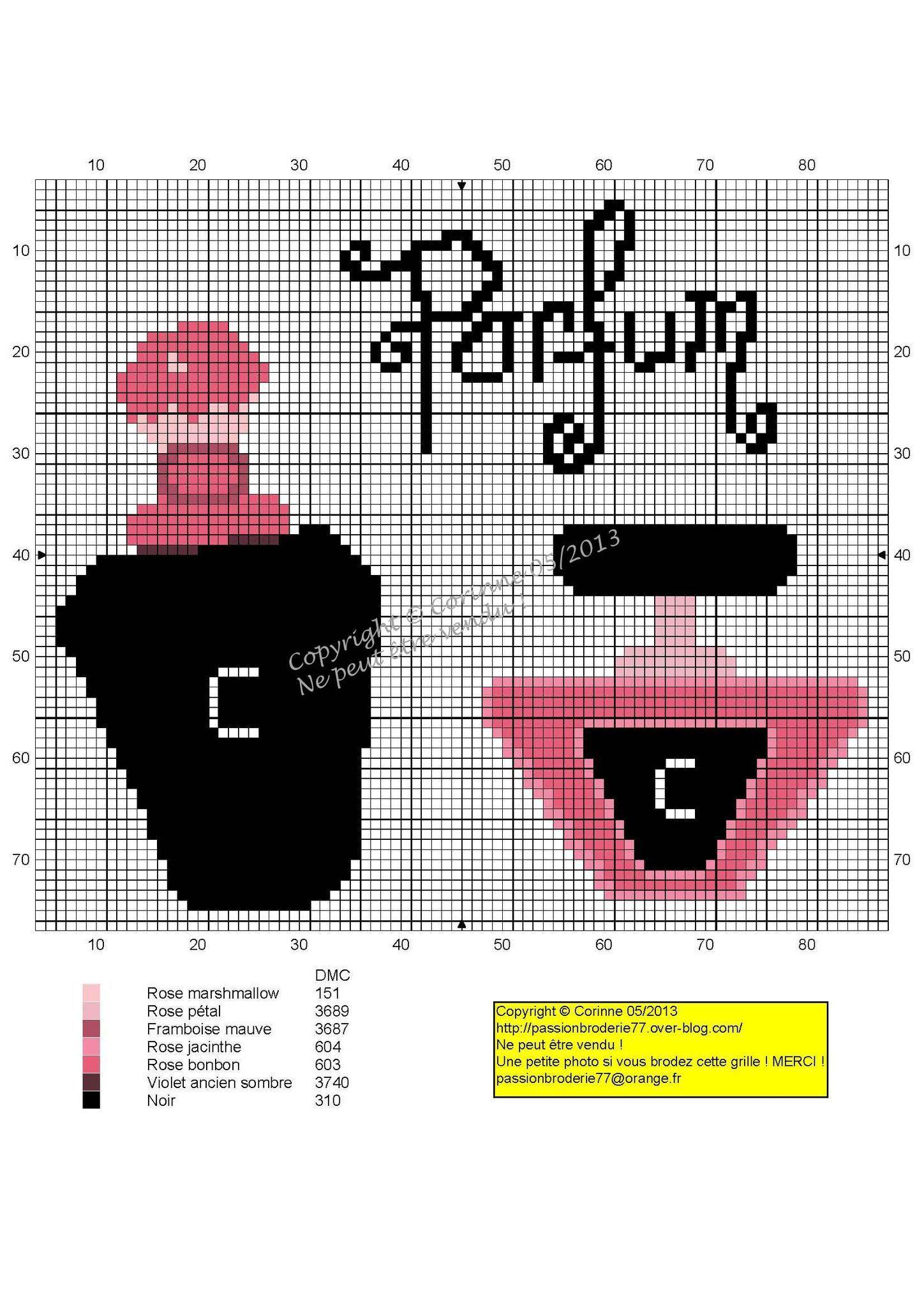 perfume copy | Rose en point de croix, Croix et Parfum