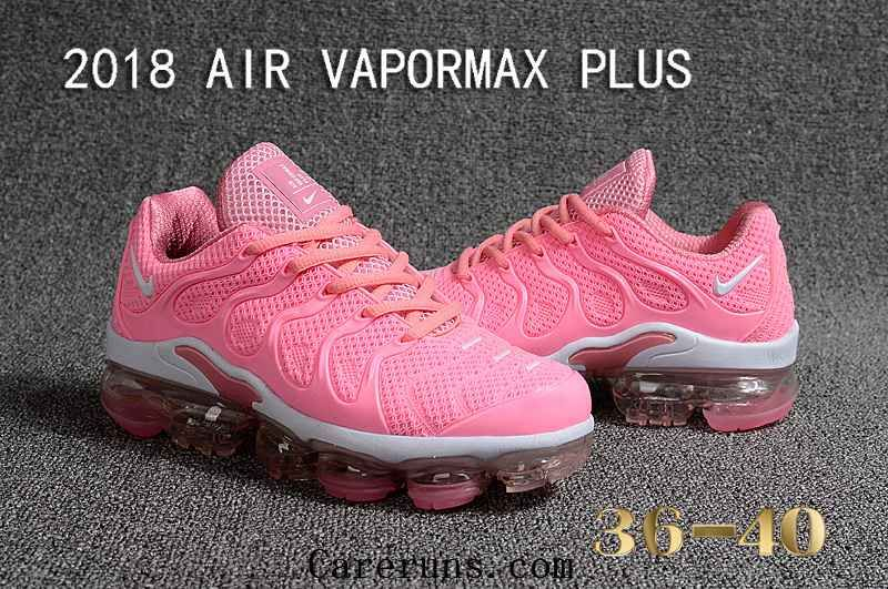 pretty nice e1788 424c9 Nike Air Vapormax TN Plus 2018 Pink White Women Sneakers