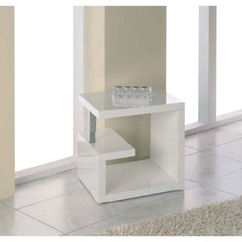 Charming For Some Reason, I Love The Idea Of A White, Cube End Table.