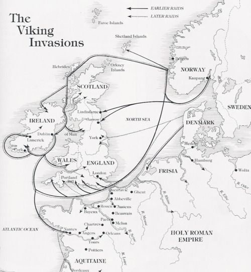 Viking Invasion Map Unfortunately Waterford The Oldest Of All
