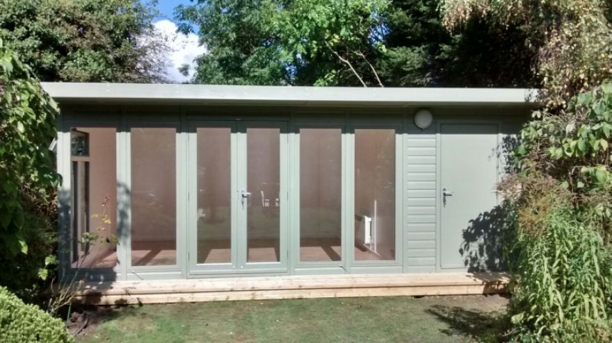 combination shed and summer house   combination and multi-purpose