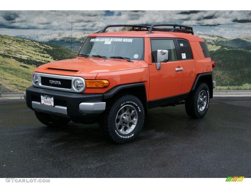 Magma orange 2013 toyota fj cruiser 4wd this one talked to gj