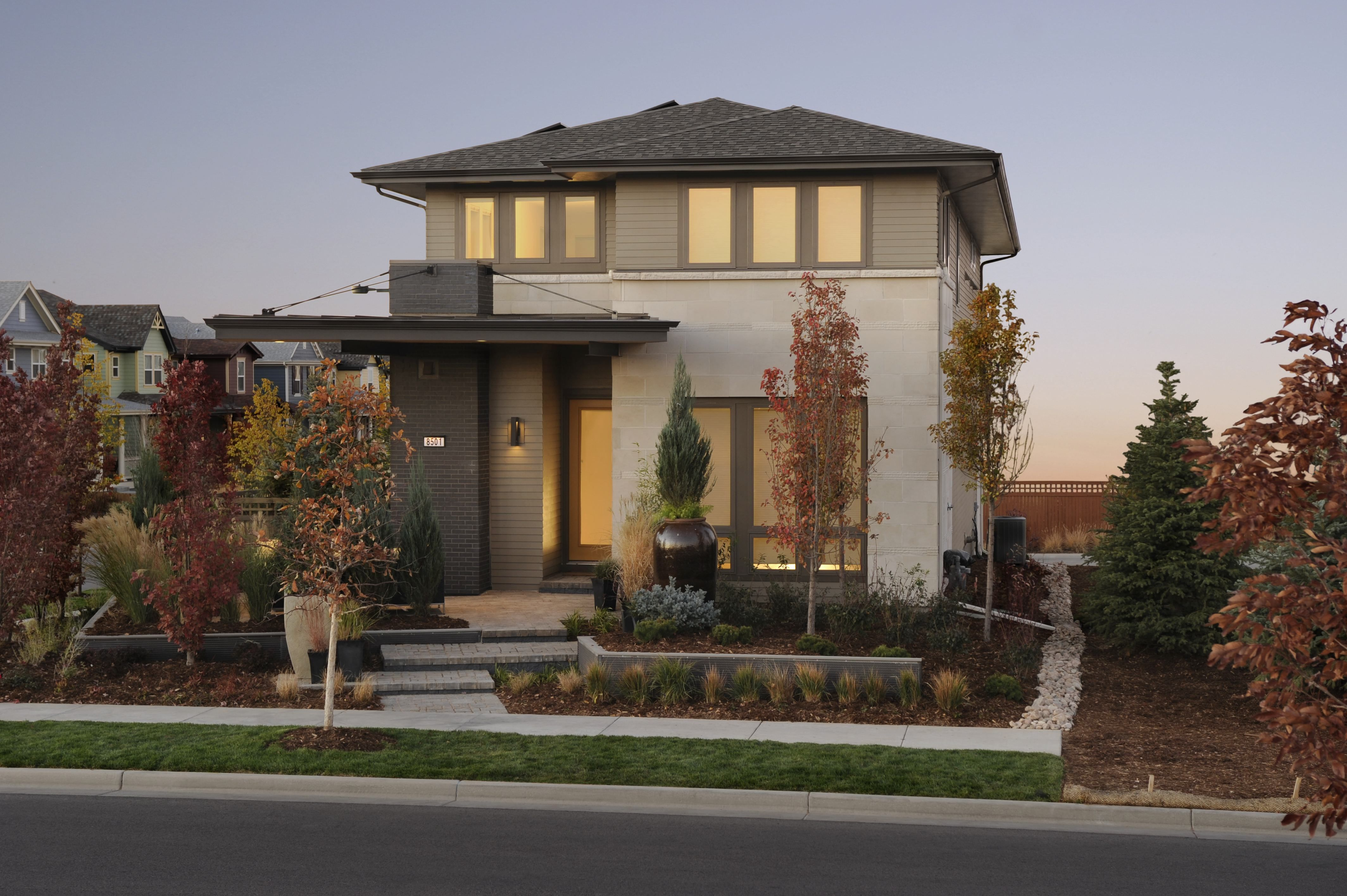 Minimalist Modern House Exterior In Brown Color Modern Exterior