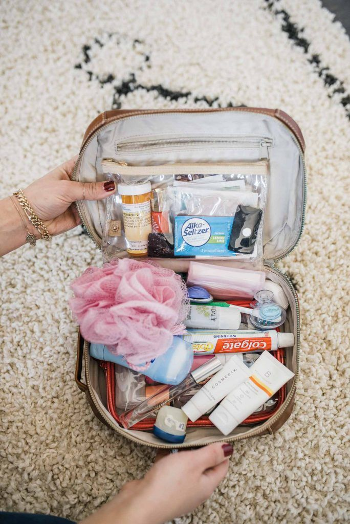 How To Pack A Toiletry Bag & The Essential Toiletries List | My Style Vita