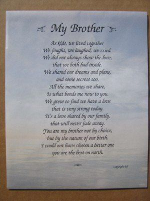 Loss Of My Brother Quotes Quotesgram Brother Quotes Brother Poems My Brother Quotes