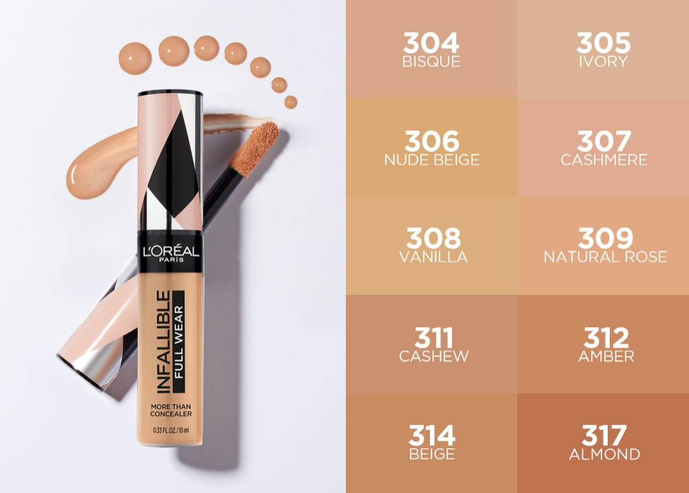 L'Oréal Paris Infallible Full Wear Concealer [Transfer