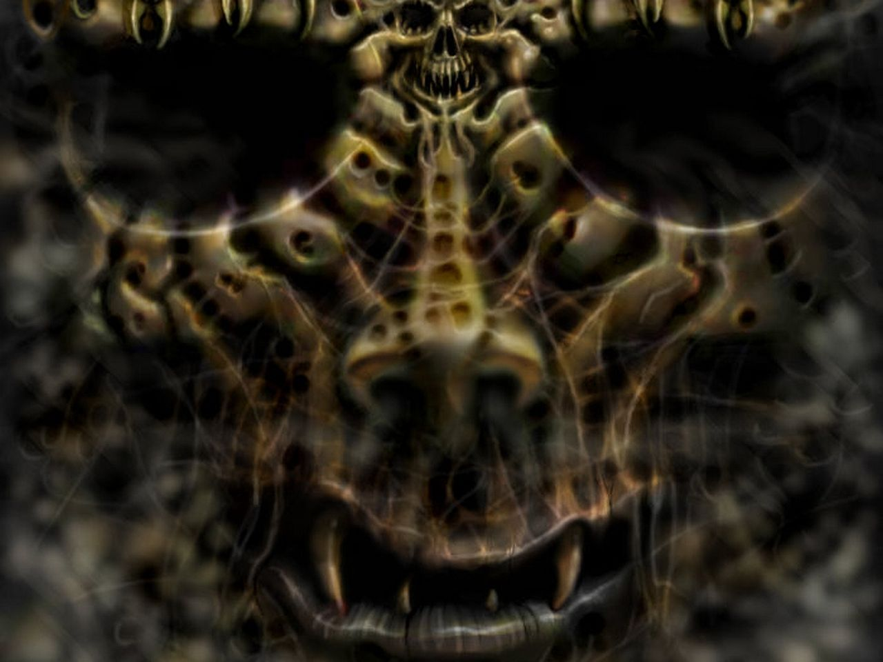 evil demon skulls wallpaper - photo #9