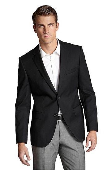 Black sportcoat | Wardrobe | Pinterest | American casual