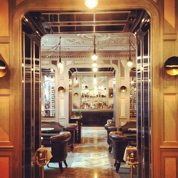 The Connaught Bar. A study in chic.   Jaw Dropping ...