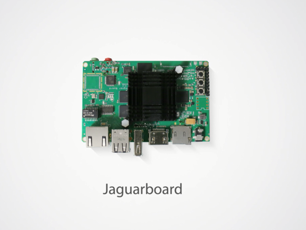 JaguarBoard: x86-based Single Board Computer project video thumbnail ...