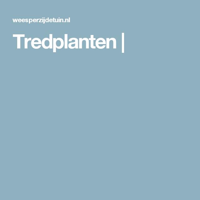 Tredplanten |