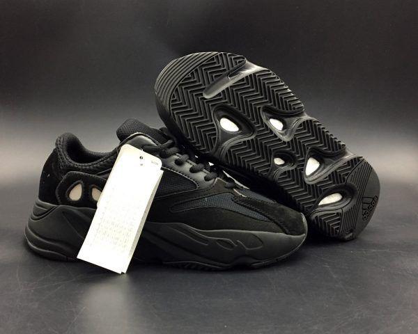 756639ef70c1 adidas Yeezy Boost Wave Runner 700 Triple Black For Sale
